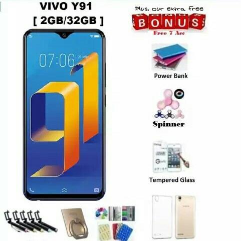 Vivo Y91 Ram 2GB32GB - Bisa Cicilan Tanpa Kartu Kredit  Free 7 Items