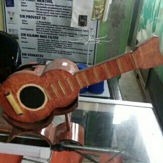 gitar hiasan